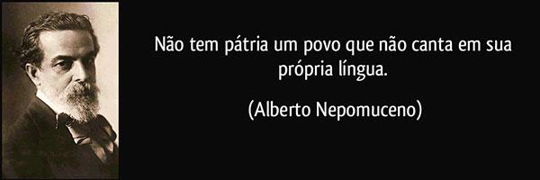 Alberto Nepomuceno - breve memória - Movimento.com